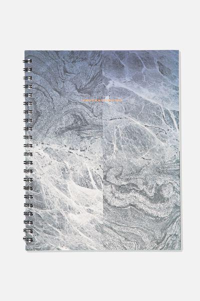 A4 Campus Notebook, PROCRASTINATING