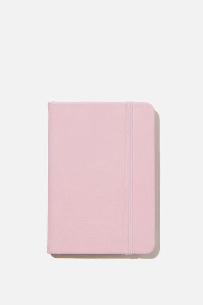A6 Buffalo Journal, PLASTIC PINK