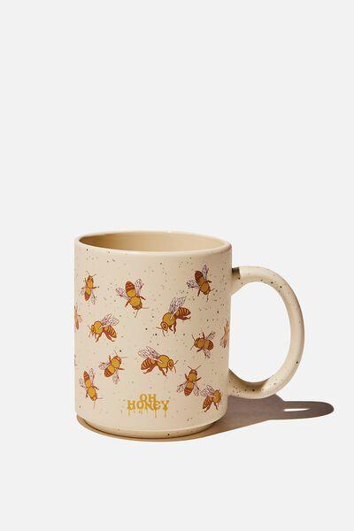 Daily Mug, BEES HUH HONEY
