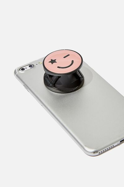 Phone Grip, HAPPY FACE