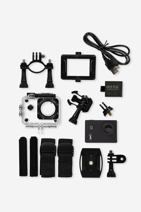 Action Camera, BLACK