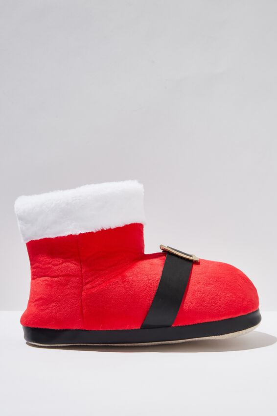 Oversized Slippers, SANTA BOOT