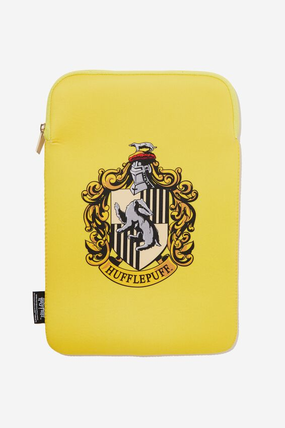 Harry Potter Laptop Sleeve 13 Inch, LCN WB HUFFLEPUFF