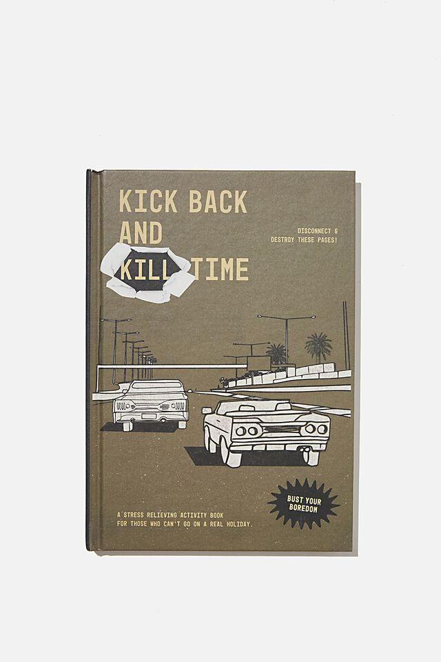 A5 Fashion Activity Journal, KILL TIME VOL.2