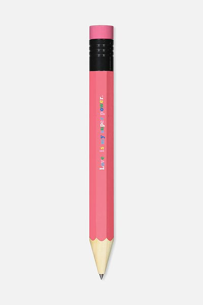 Giant Pencil, RED STRAWBERRY