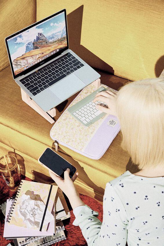 Take Me Away 13 Inch Laptop Case, SUZI FLORAL