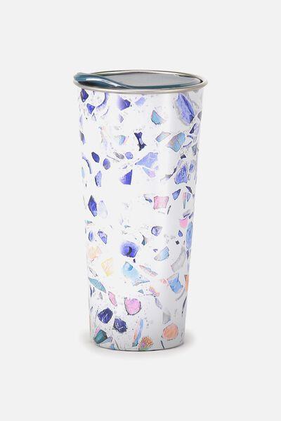 The Sipper Travel Mug, TERRAZZO