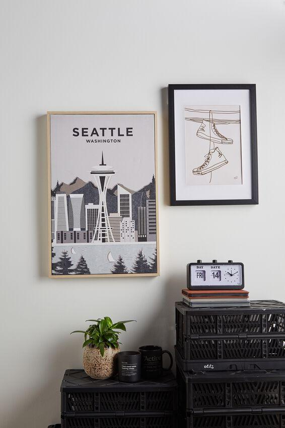 40 X 60 Canvas Art, SEATTLE
