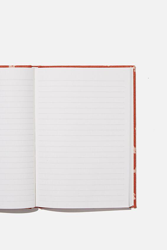 A5 Oxford Notebook, ECRU OVERSIZED POLKA