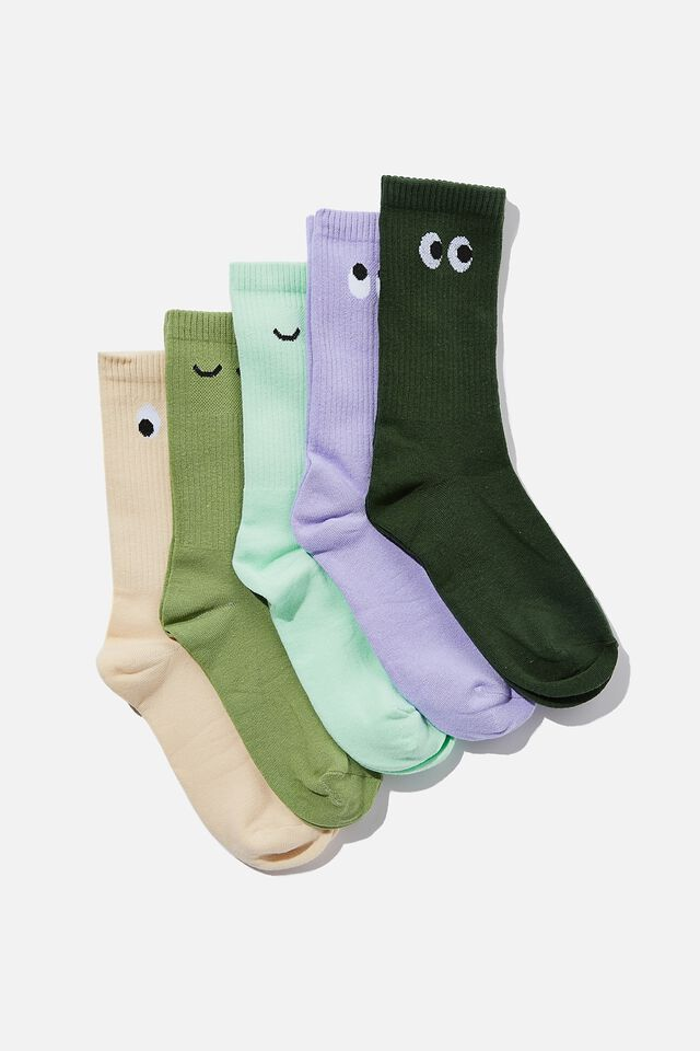 Box Of Socks, FUN FACES FEMALE (S/M)