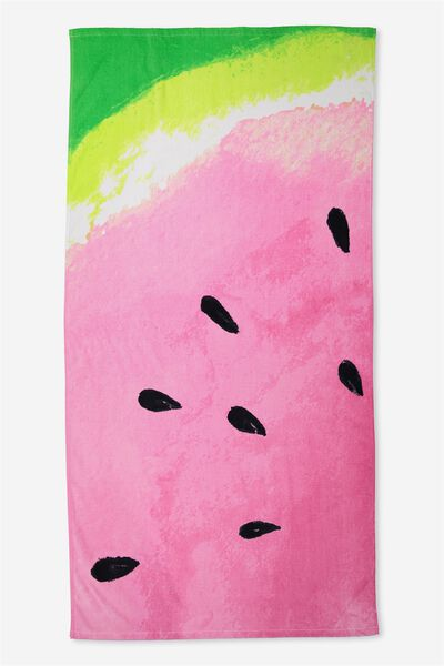 Single Beach Towel, ARTY MELON