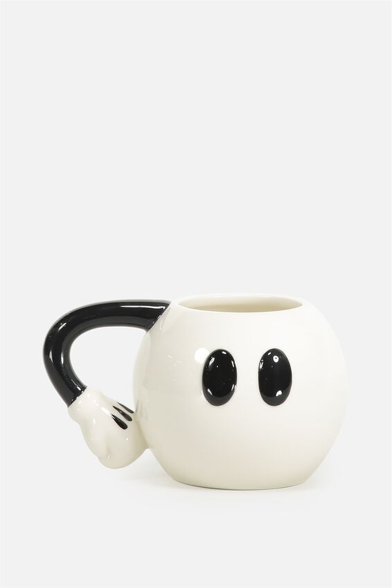 Mickey Novelty Mug, LCN MICKEY PANTS WHITE
