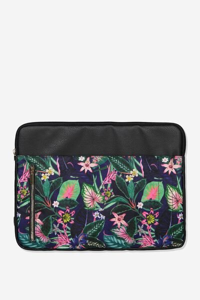 Take Charge 15 Inch Laptop Cover, RESORT FLORAL