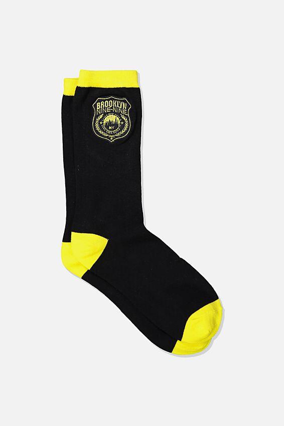 Mens Novelty Socks, LCN UNI BR BROKKLYN 99