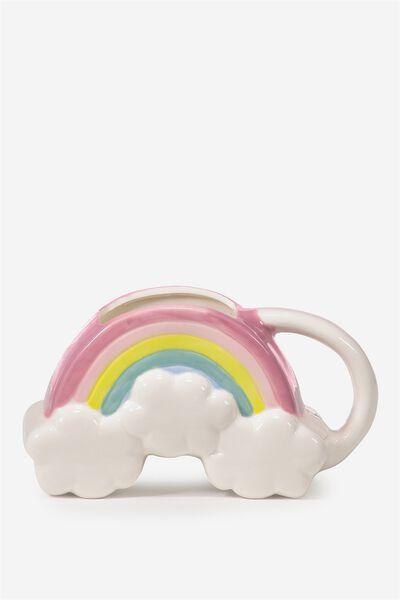 Novelty Shaped Mug, RAINBOW