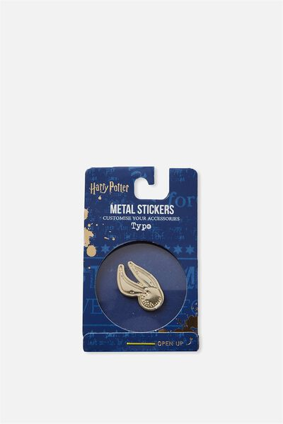 Licensed Metal Stickers, LCN HP GOLDEN SNITCH