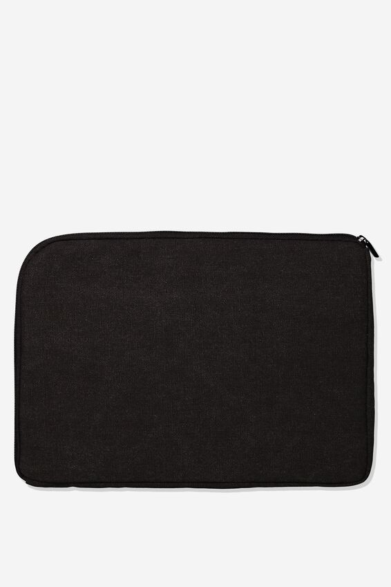 Premium Laptop Case 13 inch, BLACK MAP
