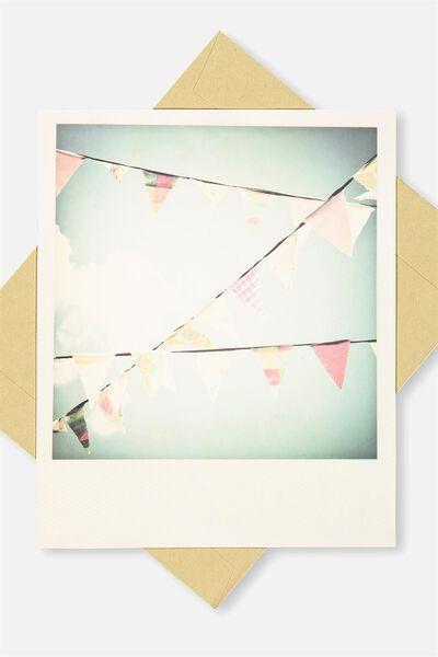 Snap Happy Birthday Card, BL-BUNTING
