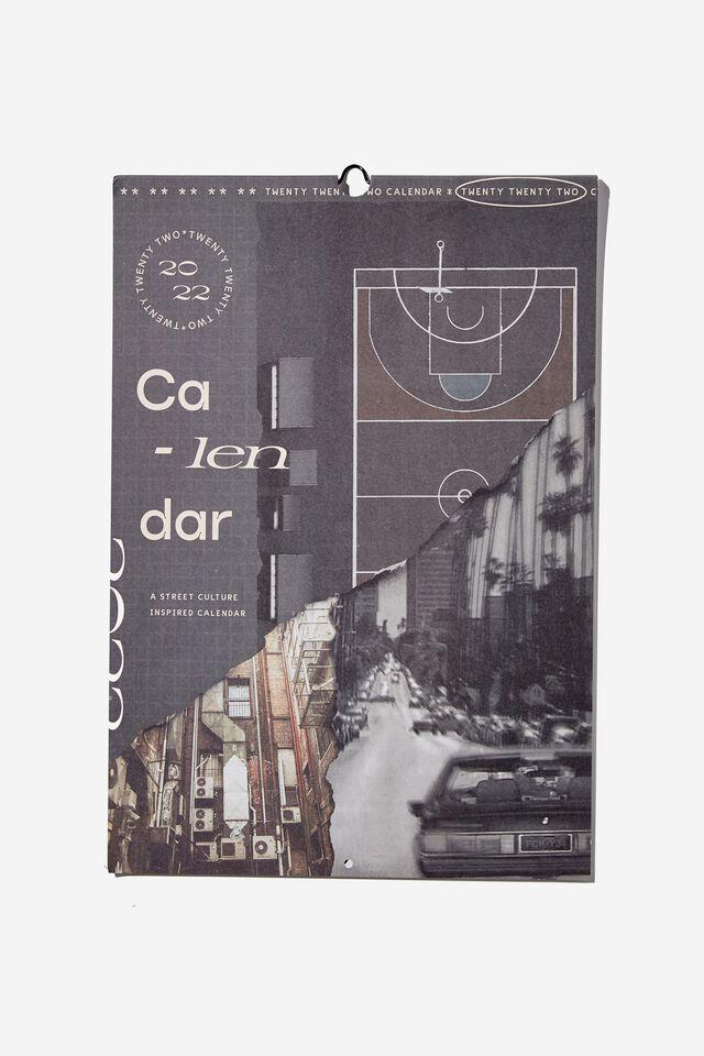 2022 Art Series Calendar, STREET CULTURE
