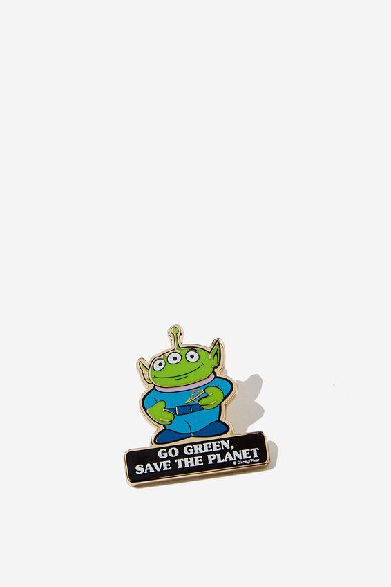 Toy Story Enamel Badge, LCN DIS ALIEN