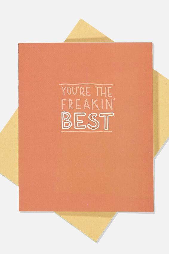 Love Card, FREAKIN BEST RUST