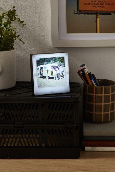 Mini Light Box Photo Frame, WHITE