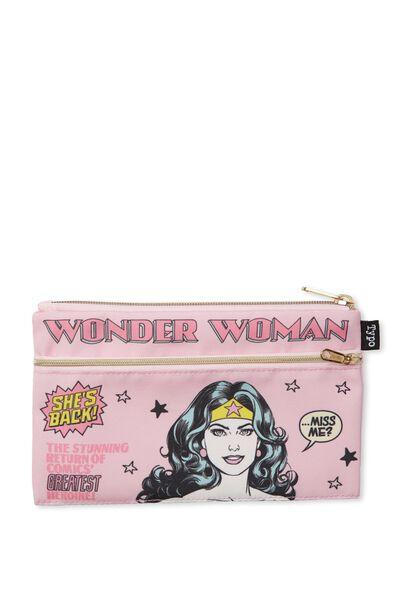 Archer Pencil Case, LCN WONDER WOMAN