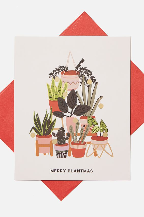 Christmas Card 2020, MERRY PLANTMAS
