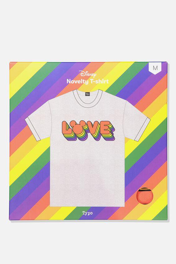 Disney Novelty Tshirt, LCN DIS MICKEY PRIDE