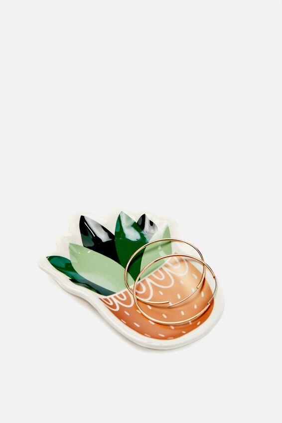 Novelty Trinket Tray, SUCCULENT
