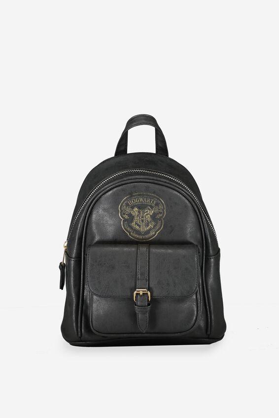 Harry Potter Backpack, LCN BLACK HOGWARTS