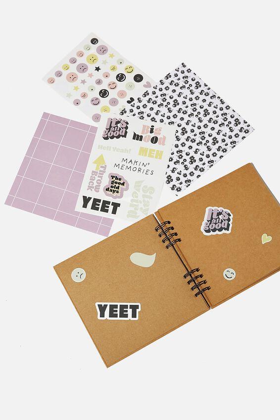 Diy Album Kit 8X8, BIG MOOD