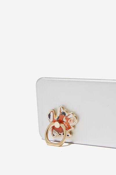 Licenced Metal Phone Ring, LCN DIS PUMBAA