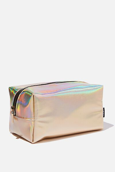 Brooklyn Pencil Case, GOLD