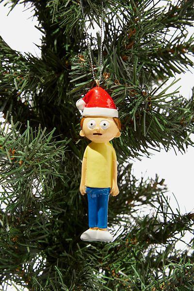 Resin Christmas Ornament, LCN CAR SANTA MORTY