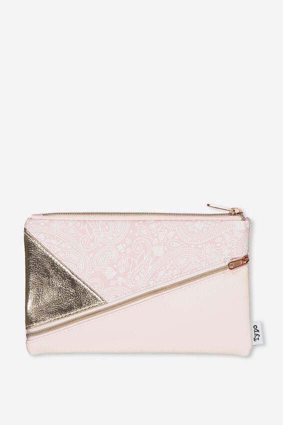 Premium Pencil Case, BLUSH LACE