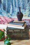 Hand Gesture Candle, RUDE FINGER BLACK