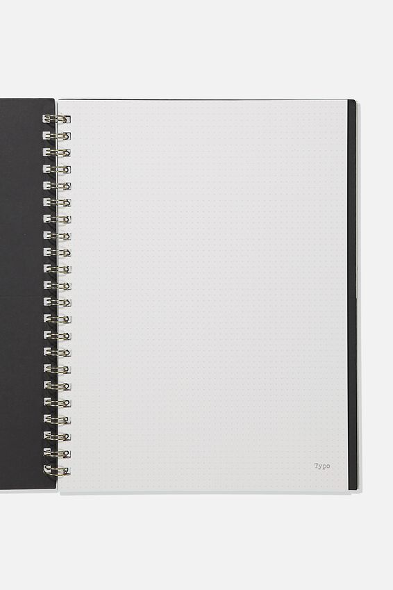 A4 Campus Notebook Dot Internal Recycled, RESORT FLORAL