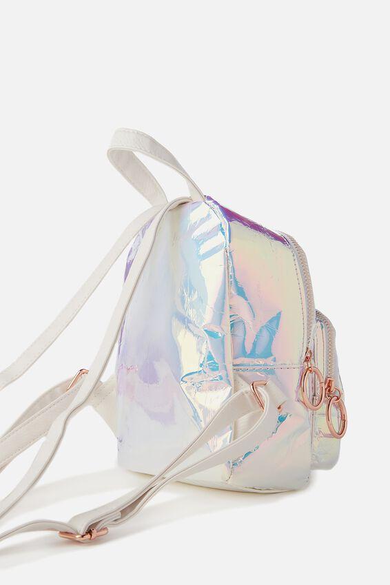 Mini Madrid Backpack, IRIDESCENT