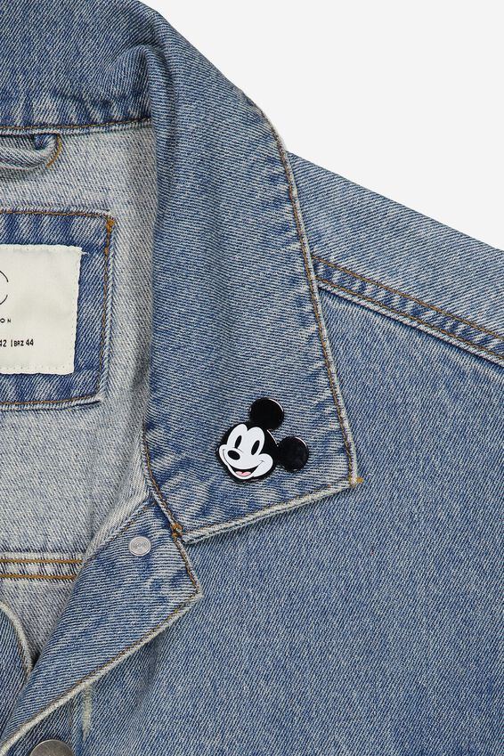 Disney Enamel Badge, LCN DIS MICKEY VINTAGE HEAD