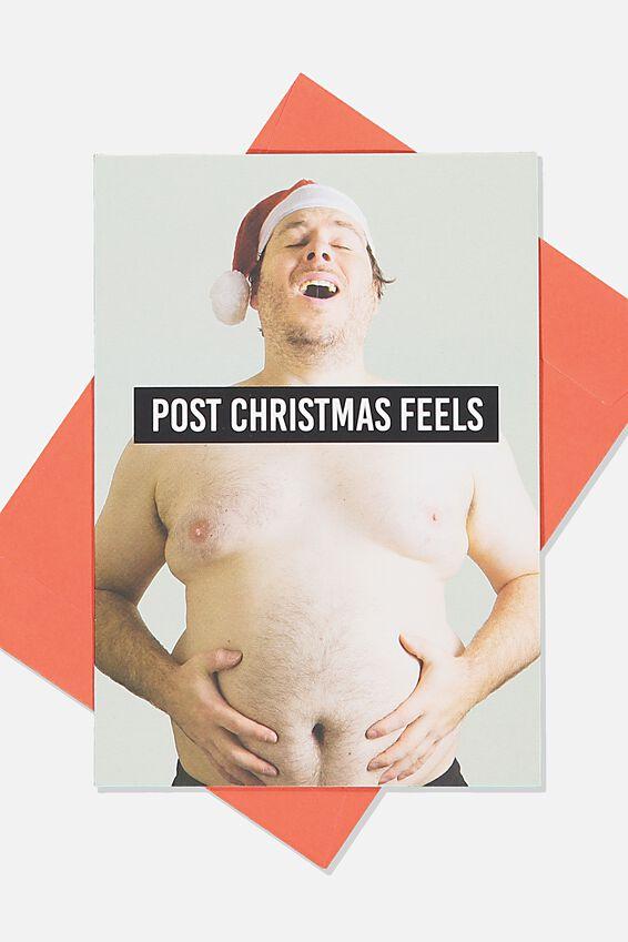 Christmas Card, POST CHRISTMAS FEELS