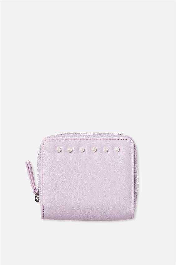 Mini Wallet, LILAC PEARL