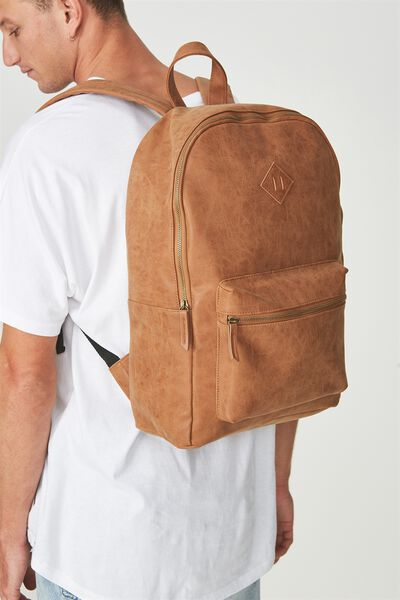 Buffalo Backpack, MID TAN
