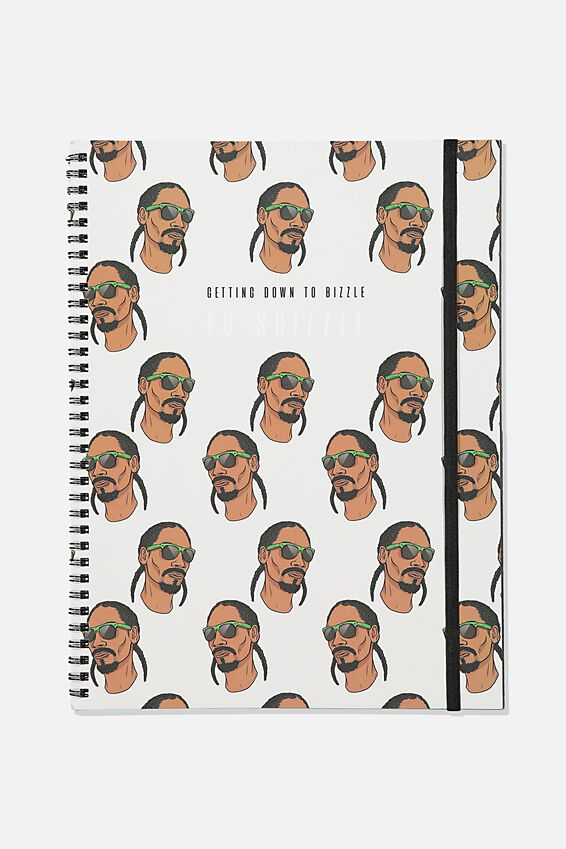 A4 Spinout Notebook Recycled, LCN MT SNO FO SHIZZLE