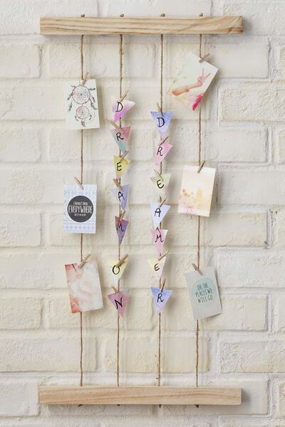 Hang & Peg Frame Kit, NATURAL