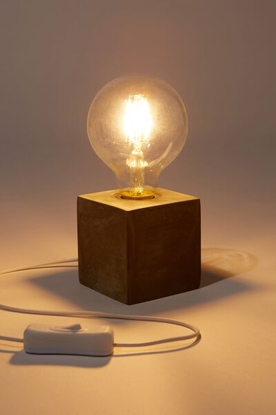 Small Usb Desk Lamp, CEMENT BULB