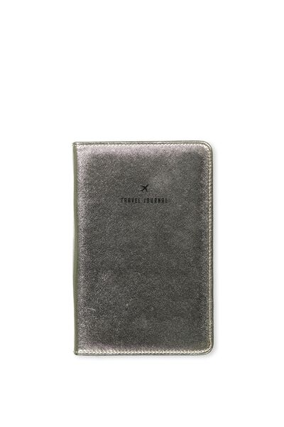 Buffalo Travel Journal, GOLD CROSS HATCH