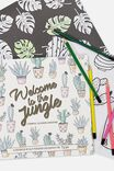 Between The Lines Colouring Book, WELCOME TO THE JUNGLE