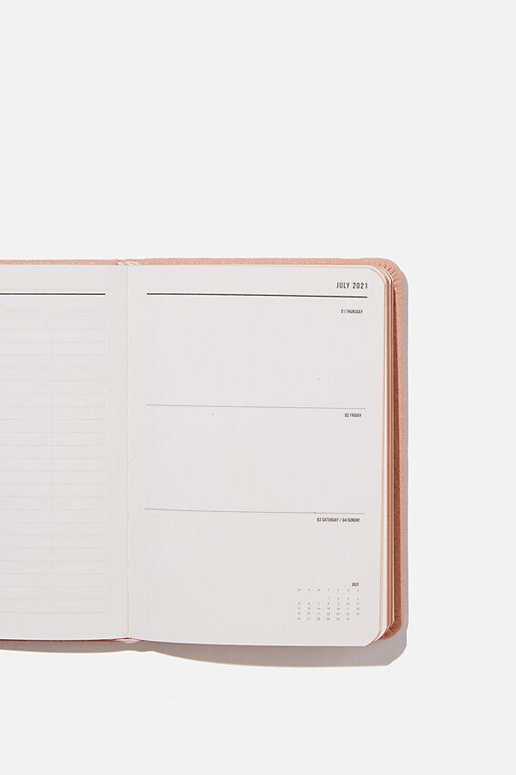 2021 A6 Weekly Buffalo Diary, NUDE