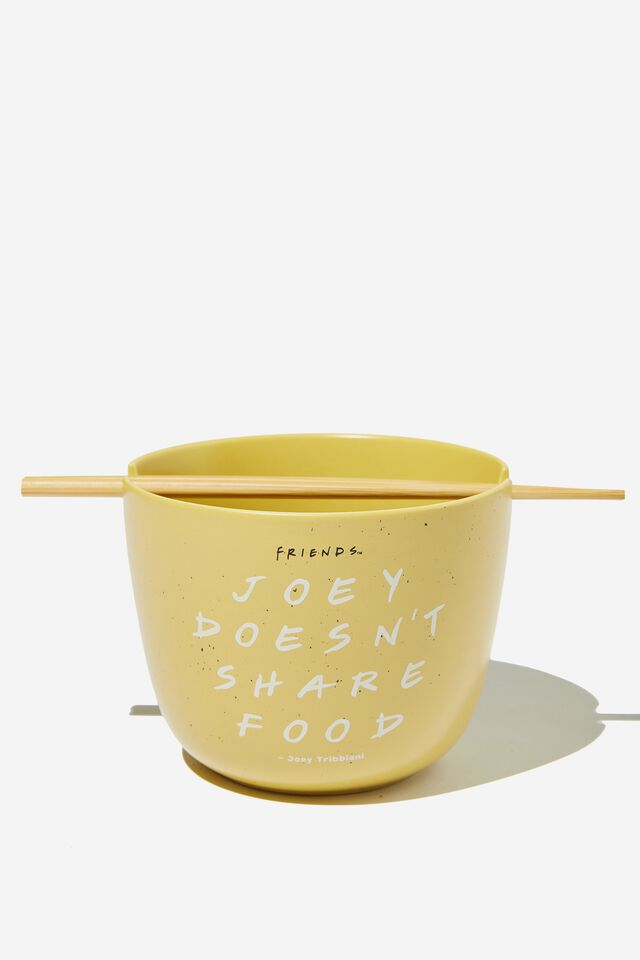 Friends Feed Me Bowl, LCN WB FRI JOEY DOESN T SHARE WASHED MUSTARD